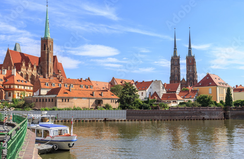 Wroclaw, Ostrow Tumski (cathedral island), poland