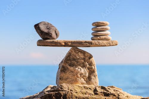 Slika na platnu Symbol of scales