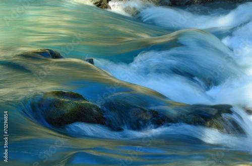 Canvas Print Colorful stream