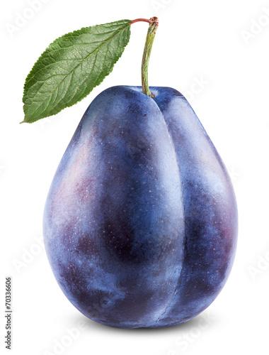 Canvas Print Fresh plum