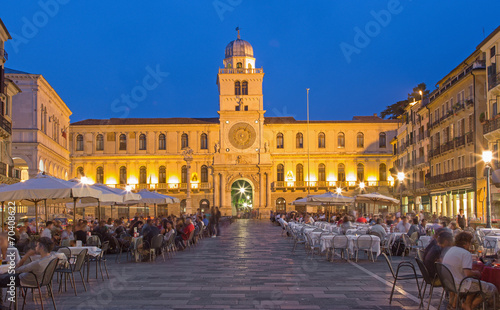 Photo Padua - Piazza dei Signori square and Torre del Orologio