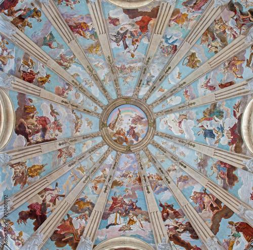Tableau sur Toile Padua - cupola in the church Chiesa di San Gaetano