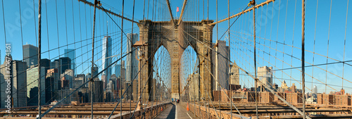Fototapeta Manhattan i Most Brookliński z widokiem
