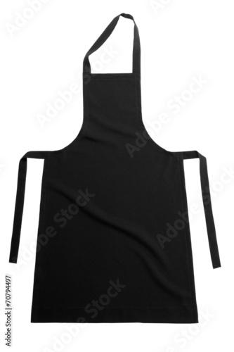 Black apron Fotobehang