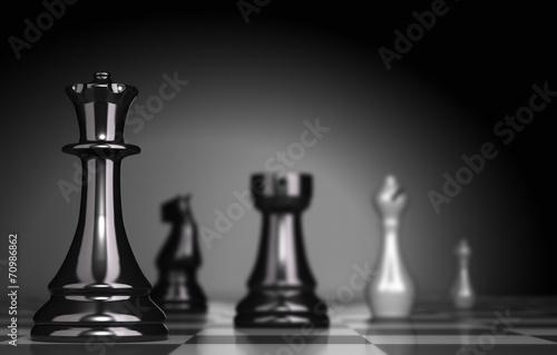 Obraz na plátně Chess Game