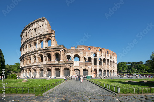 Canvastavla Colosseum in Rome - Italy