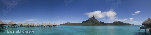 Obraz na plátně Panorama in Bora Bora, French Polynesia