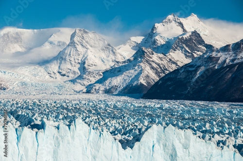 Beautiful landscapes of Perito moreno Glacier, Argentina