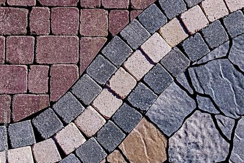 Photo Ornamental paving 2