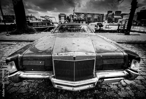 Old American car #71198491