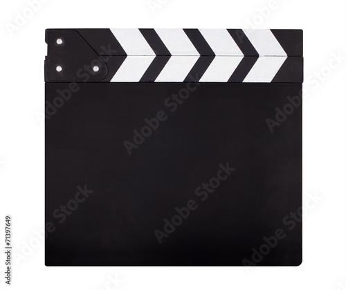 Cuadros en Lienzo Blank movie clapper