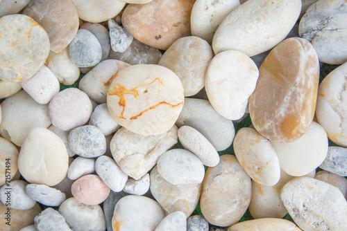 Fototapeta premium białe kamienie i tło żwirowe