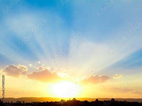 Obraz na plátne Beautiful Sunset