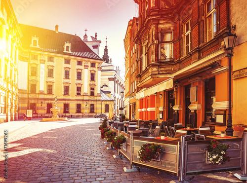 Fototapeta Wrocław - historyczne centrum miasta na zamówienie