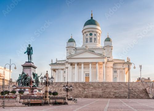 Obraz na plátně Helsinki Cathedral