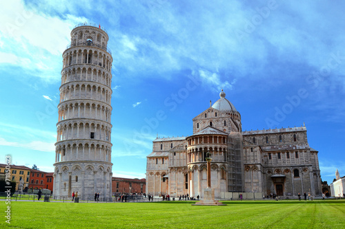 Fotografie, Obraz Piazza dei miracoli - Pisa - Toscana