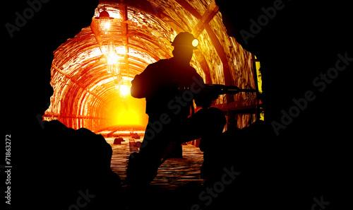 Photo The mine.