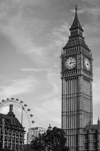 Big Ben Westminster Bridge London London Eye Big Ben Tower Tower Bridge Doppelstockbus