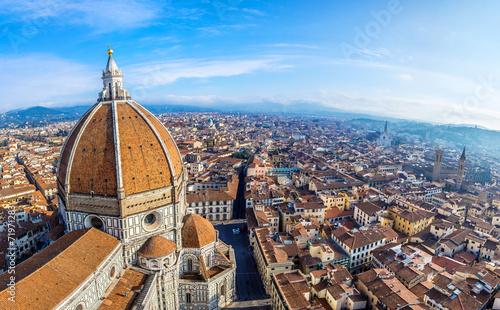 Canvastavla Cathedral Santa Maria del Fiore in Florence, Italy