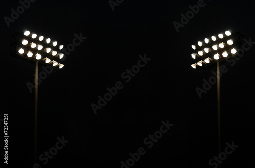 Twin Stadium lights
