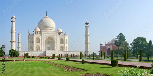 Obraz na plátně Taj Mahal in Agra,  India