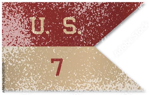 Valokuva 7th Cavalry Flag