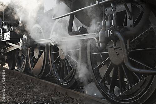 Obraz na płótnie Steam Locomotive