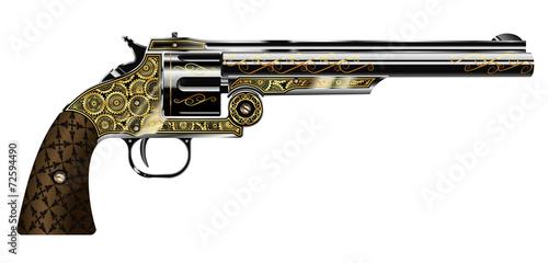 Obraz na plátně revolver