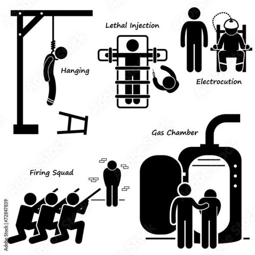 Fotografia Execution Death Penalty Capital Punishment Modern Methods