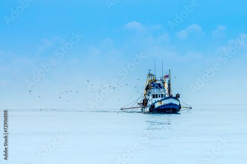 Fotografia fishing boats