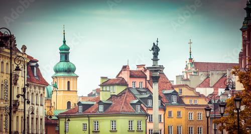 Fototapeta Stare Miasto w Warszawie XXL