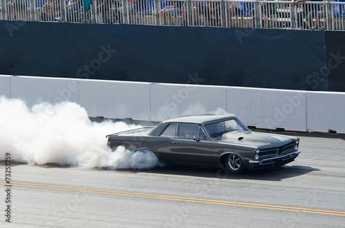 Fototapeta Funny Car beim Burnout