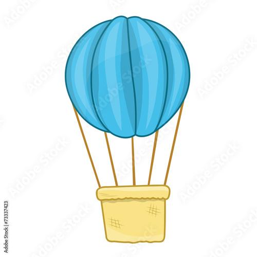 Photo hot air balloon isolated illustration