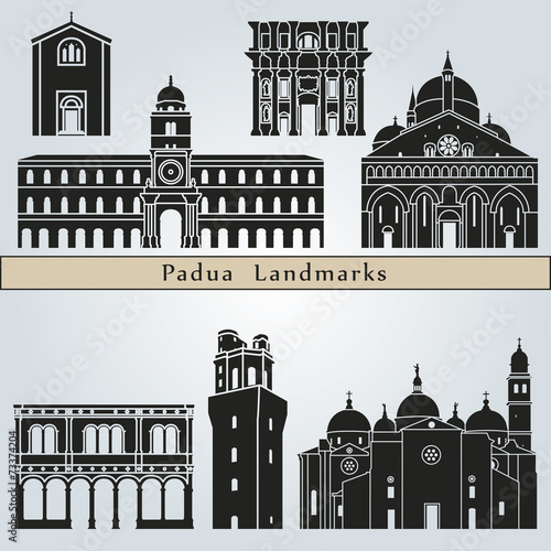Photo Padua landmarks and monuments