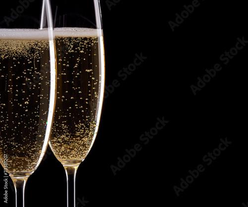 Obraz na płótnie Champagne