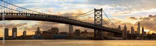 Naklejki na meble Filadelfia i jej piękna architektura