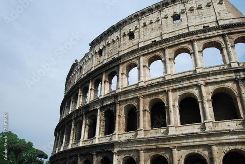 Slika na platnu Ruins of the Coliseum in Rome