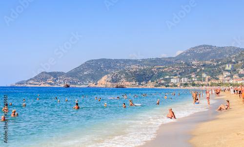 Obraz na plátně Cleopatra beach