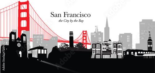 San Francisco Skyline #73843633