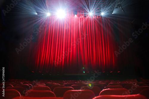 salle spectacle Fototapeta