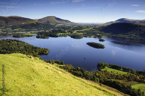 Photo Derwent Water and the Fells