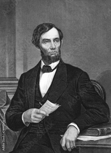 Canvas Print Abraham Lincoln