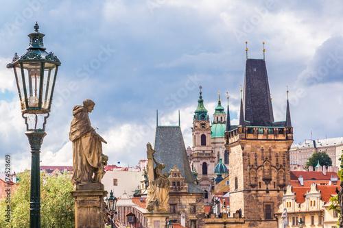 Photo Charles bridge in Prague