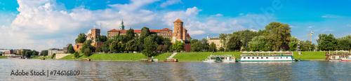Wawel castle in Kracow #74616809