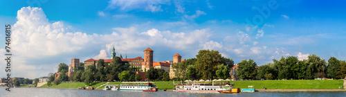 Wawel castle in Kracow #74616815