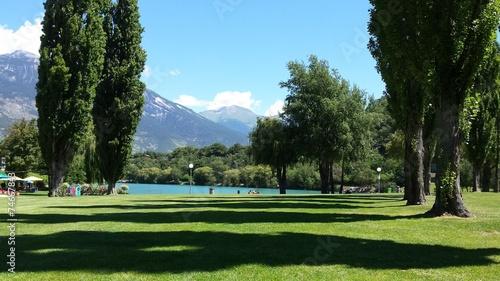 Fotografia Lago de Sierre