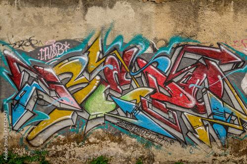 Stampa su Tela Street Art