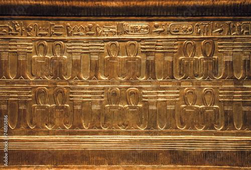 Fotografia Objects from the thomb of Tutankhamen