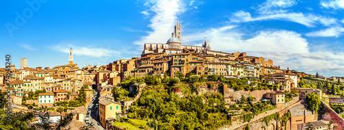 Obraz na plátně Siena, Tuscany, Italy