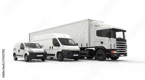 Fotografia Delivery vehicles